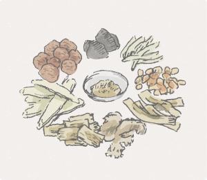 長野市にある漢方とハーブのお店なつめやの薬膳について